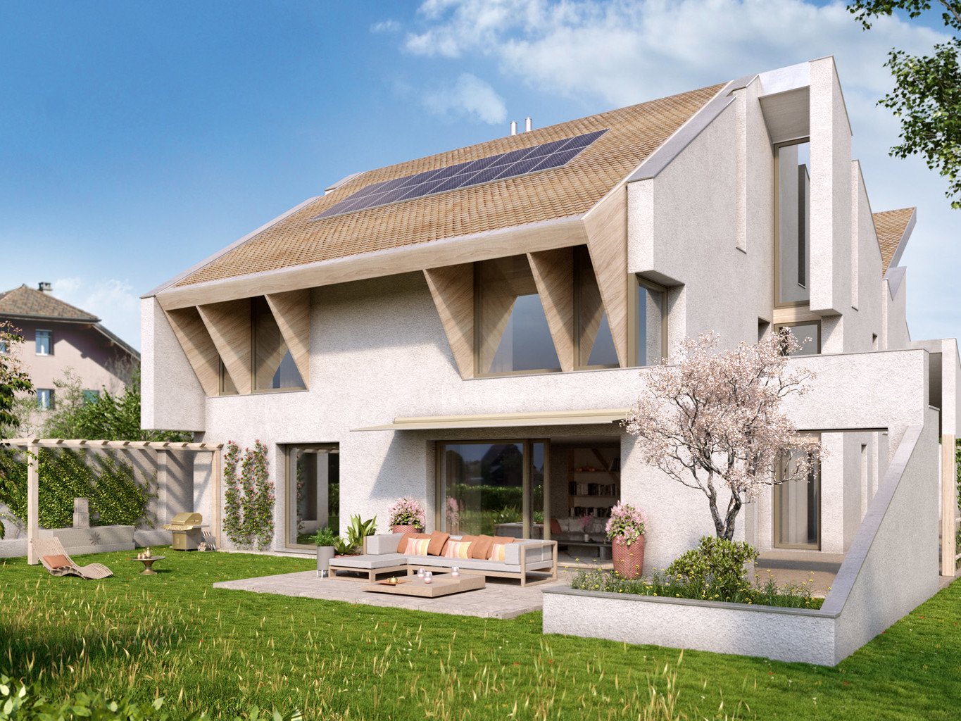 construction villas à Gland - Romanens management